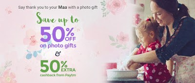 zoomin mother's day sale discount and paytm cashback