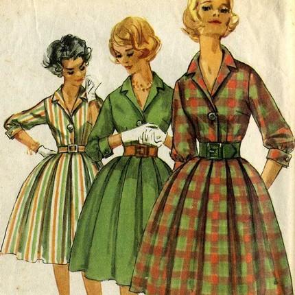 Платья 40 годов, фото » Офисные сарафаны