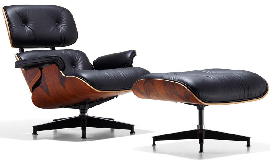 Resultado de imagem para Lounge Chair e ottoman