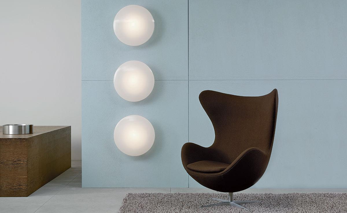Arne Jacobsen Eklipta Wall Ceiling Light Hivemodern Com