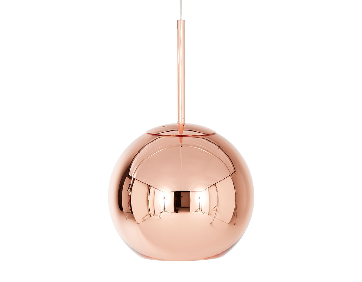 Bronze Globe Pendant Light