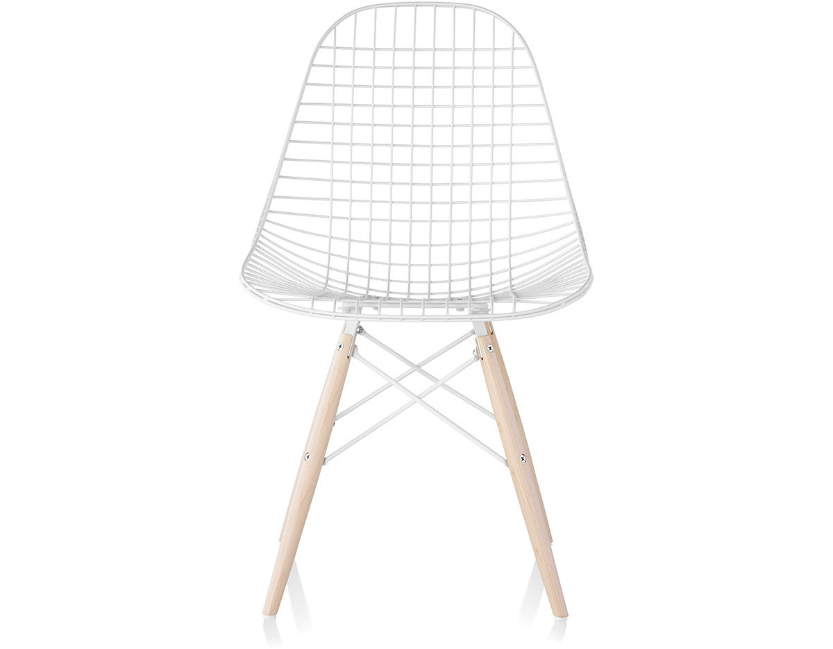 Eames Wire Chair With Dowel Base