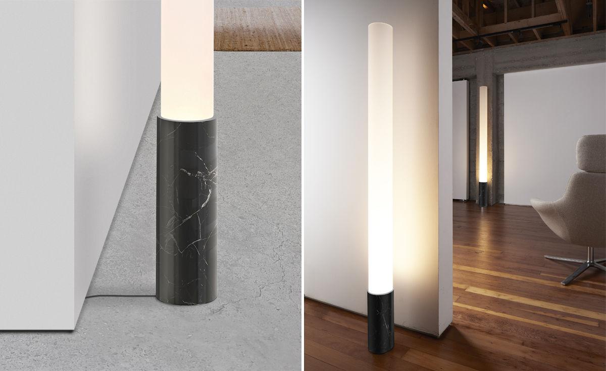 elise marble floor lamp