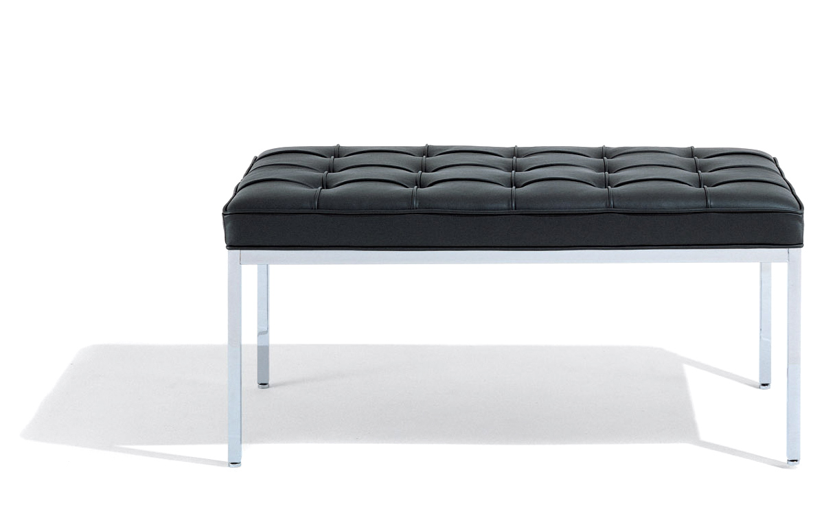 Florence Knoll Two Seat Bench Hivemodern Com
