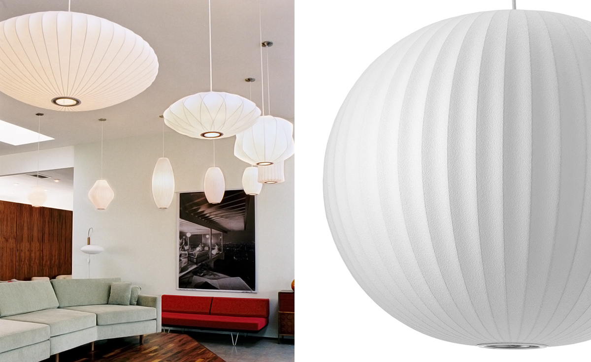 nelson bubble lamp ball