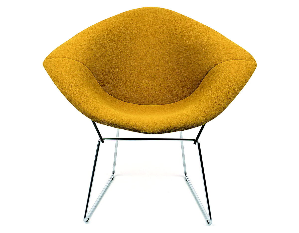 Bertoia Small Diamond Chair With Full Cover