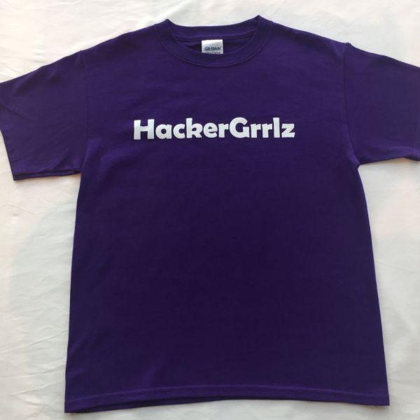 HackerGrrlz Adult Unisex T-shirt