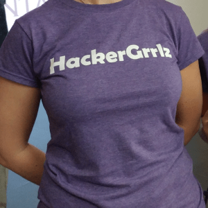 HackerGrrlz Ladies' T-shirt