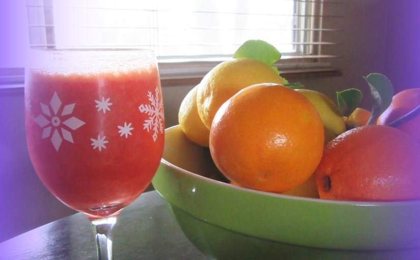 Citrus C Juice to Combat the Winter Blues