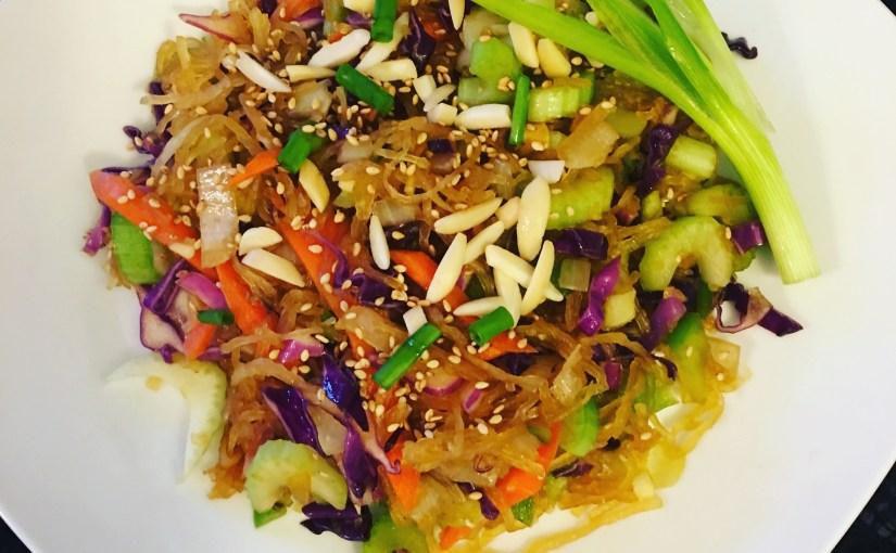 Almost Raw Vegan Chow Mein