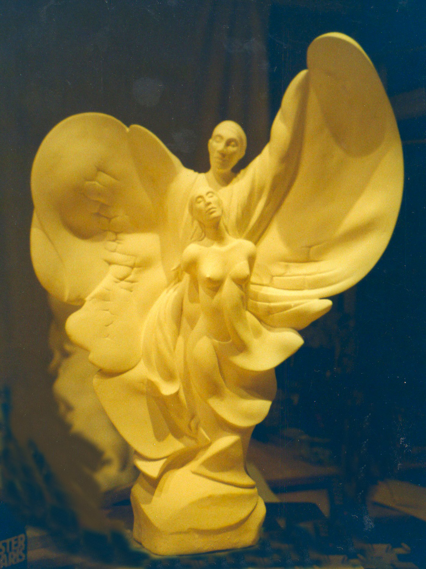 Guardian Angel - plaster