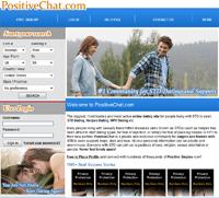 positive chat homepage screenshot