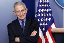 Dr. Anthony Fauci at press briefing