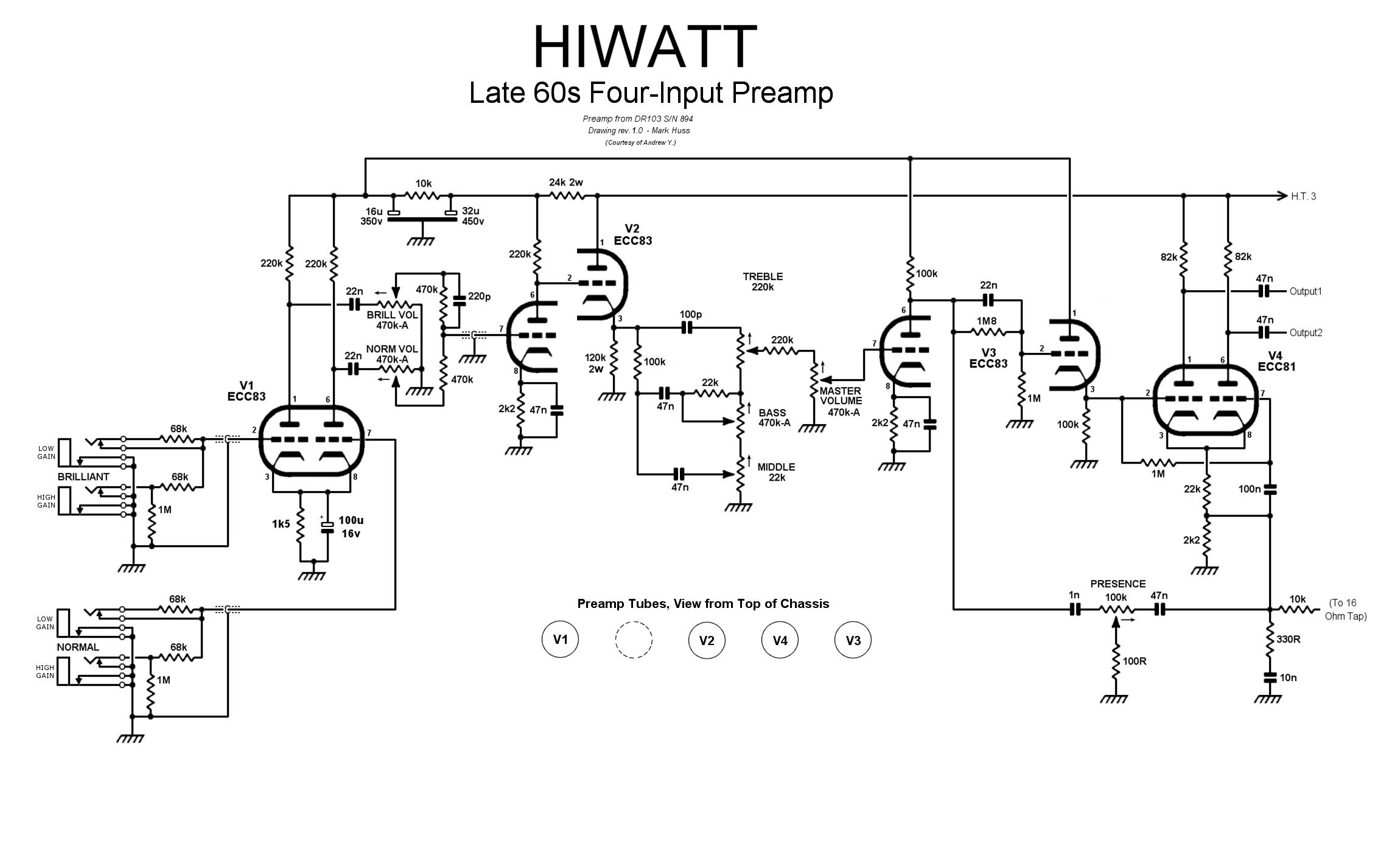 Quad Kt88 Hi Fi Amp Schematic