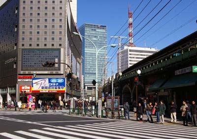 有楽町駅周辺ー東京風景寫真