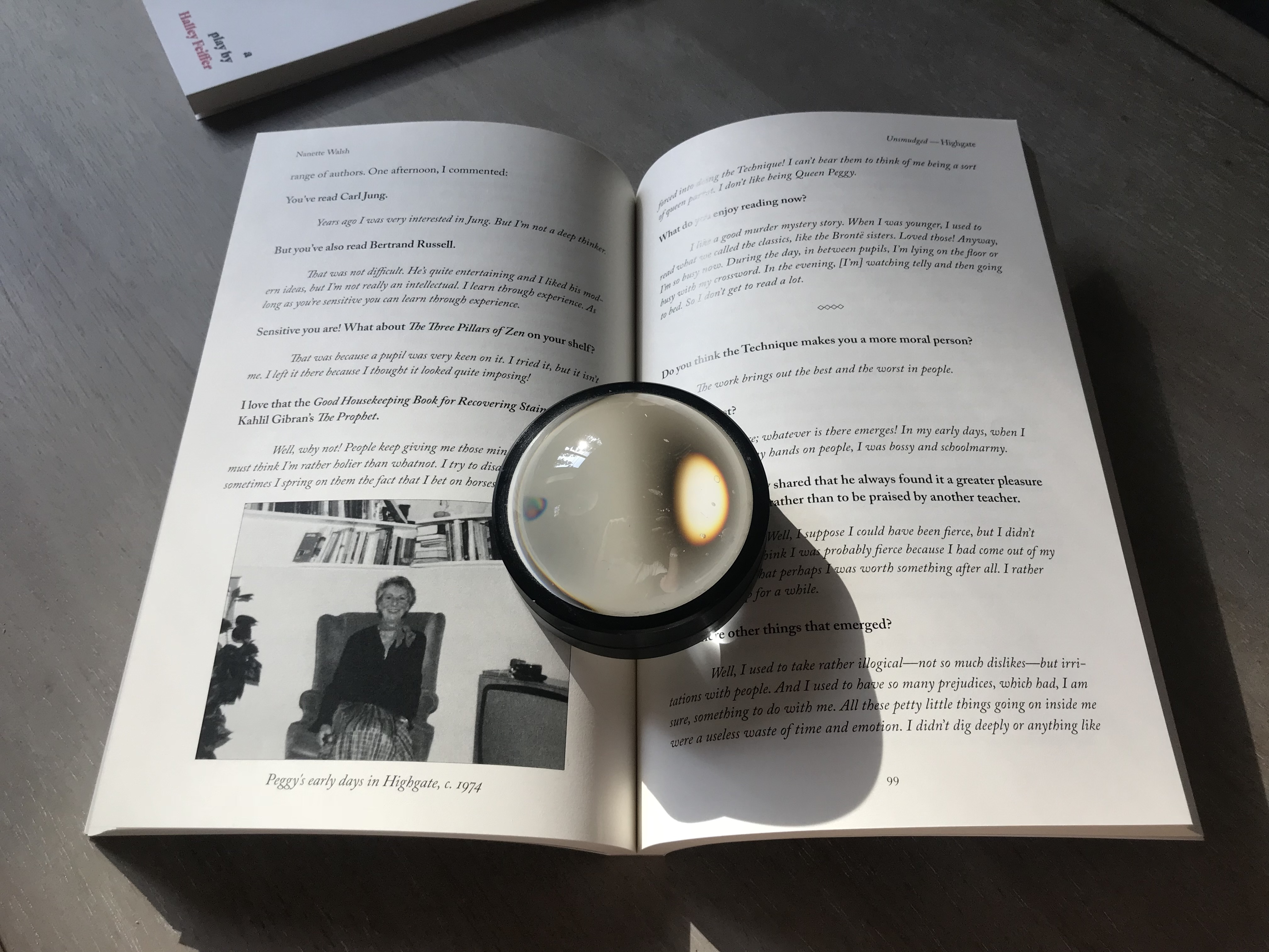 Book Interior of Unsmudged by Nanette Walsh
