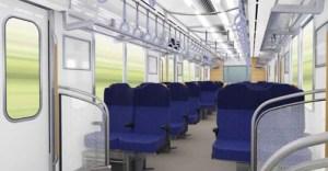 車内は2人掛けの座席になる(西武鉄道ニュースリリースより)