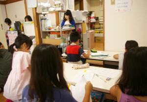 日吉下田教室の様子