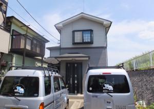 TRネットの本拠地は鶴見川沿いの綱島西に置かれている