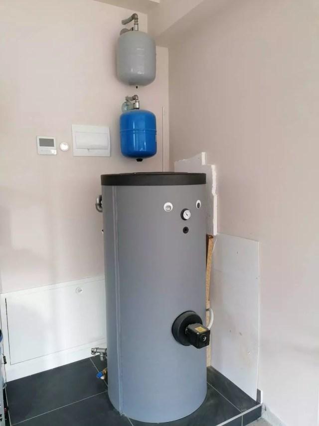 Dizalica topline - spremnik