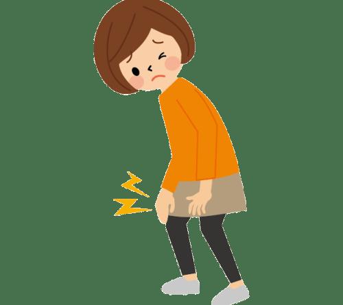 膝の痛み 女性
