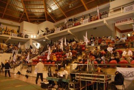 Tempat VVIP dan VIP Ikhwan dan AKhwat Konferensi Rajab 1432H DPD I HTI KEPRI, GOR/Sport Hall Temenggung Abdul Jamal, Batam, 10 Rajab1432 H / 12 Juni 2011M, Jam 08.00 – 12.00 WIB