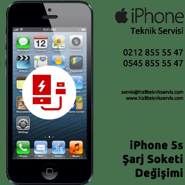 iPhone 5s Şarj Soketi Değişimi