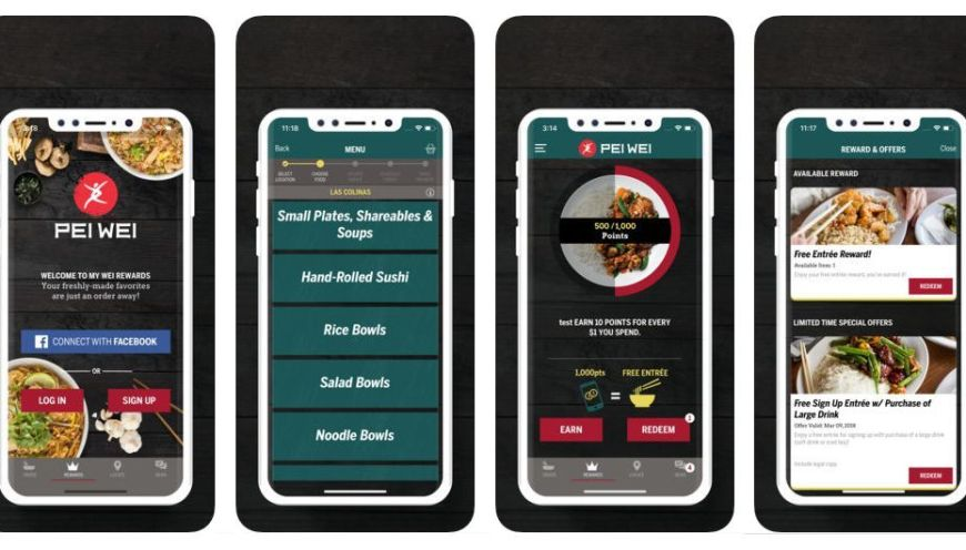 Pei Wei Launches Dramatically Improved Online Ordering Platform And Mobile App