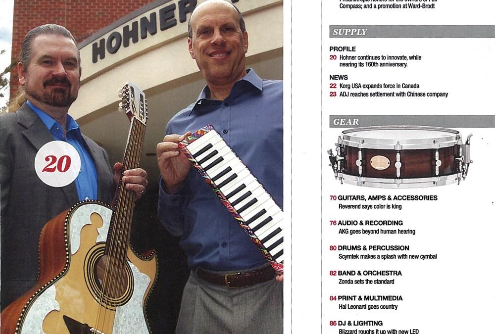 H. Jimenez featured in Music Inc.