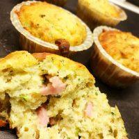 Frokostmuffins med skinke, ost og ... (LFM)