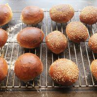 Teboller og burgerboller