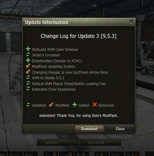 9.18 Solo's ModPack v.0