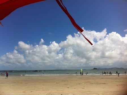 南ランタオ長沙ビーチで、プチリゾート気分満喫♪