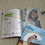 コスタ・クルーズのカタログです♪