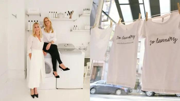 度身訂造時尚家政婦的衣料保養 THE LAUNDRESS創辦人Lindsey Wieber和Gwen Whiting