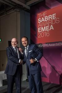 Lars Erik Accepting SABRE Award