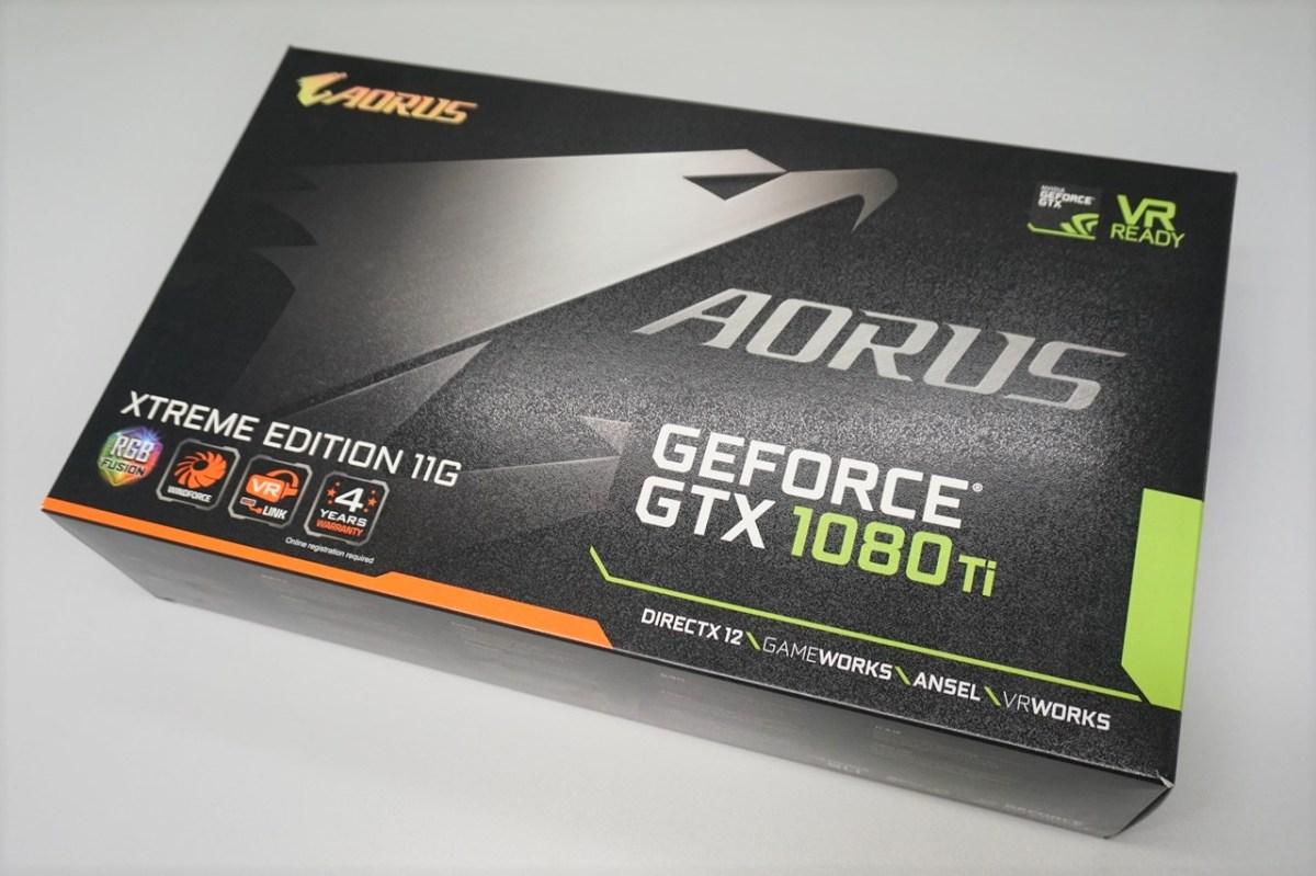 嶄新設計, 為強悍耐久而生, Gigabyte Aorus GTX1080 Ti Xtreme Edition