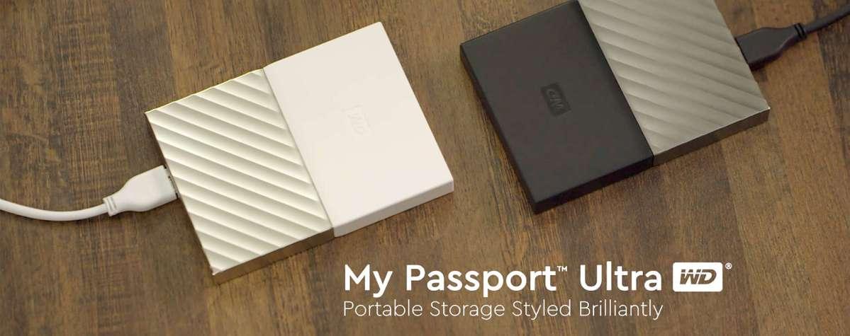 Western Digital 推出新款My Passport™ Ultra可㩗式硬碟  讓消費者輕鬆備份數碼生活