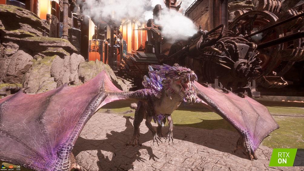 圖一_《狂龍追獵》為 Unreal Engine 首款支援 DXR 的遊戲