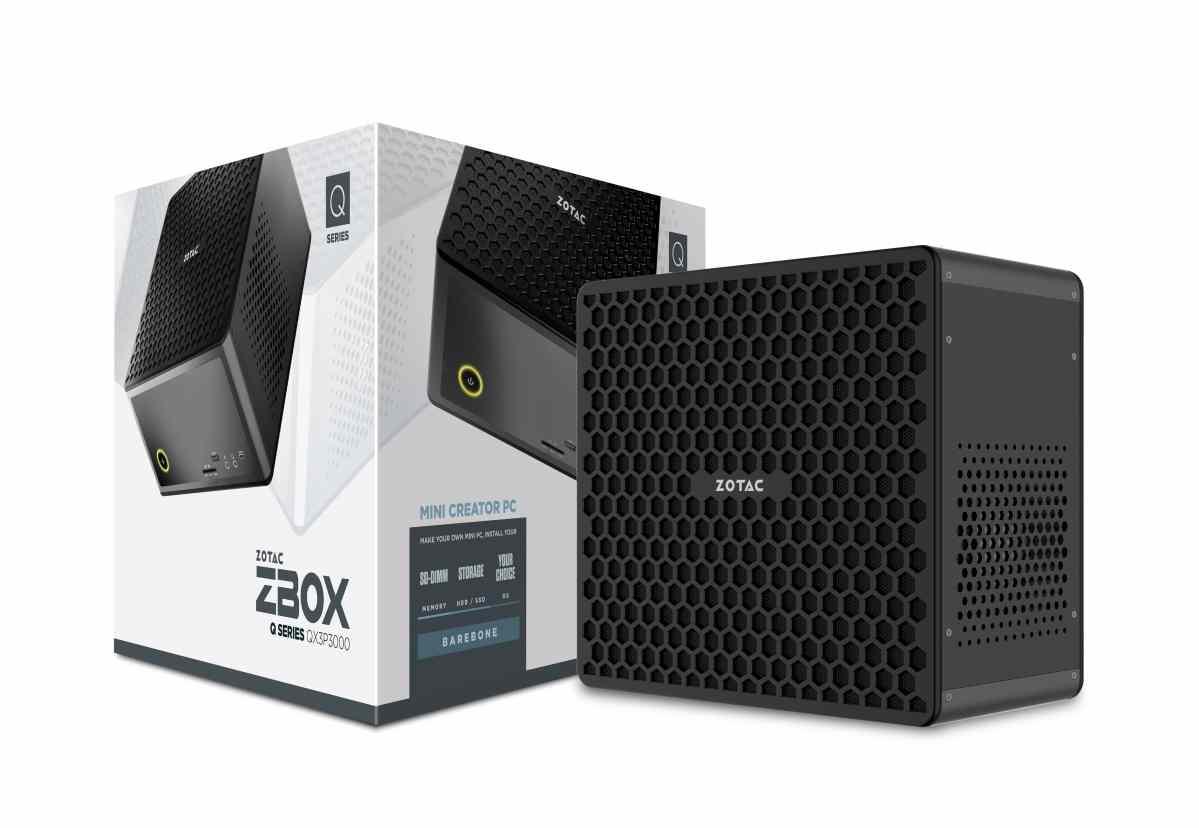 ZOTAC推出歷來最強的ZBOX迷你創作電腦 結合Intel Xeon處理器及NVIDIA Quadro顯卡