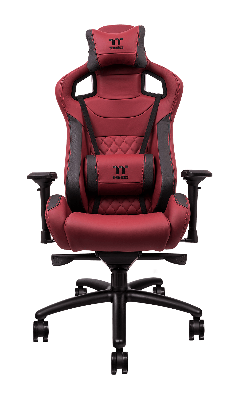 X-FIT Real Leather Burgundy Red