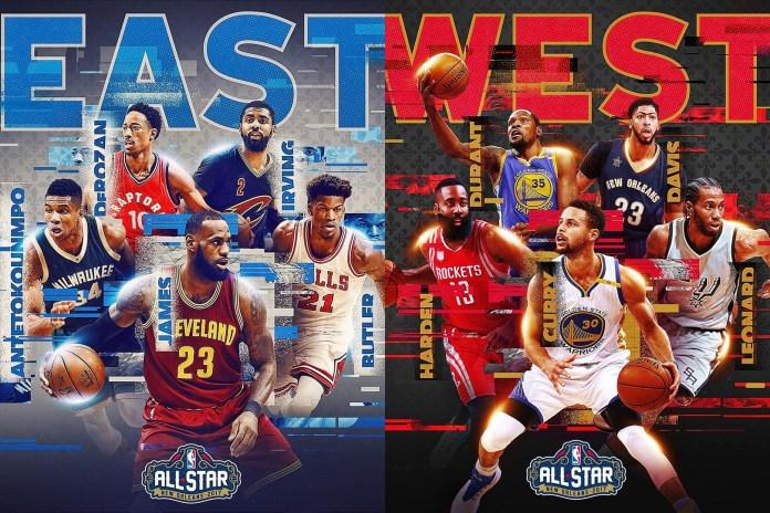 2017 NBA 全明星先發陣容正式揭曉