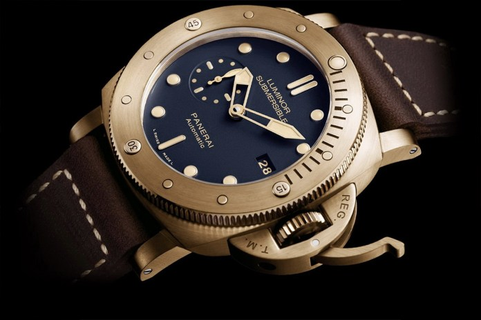 【SIHH速報】PANERAI 發佈首枚藍面青銅手錶 PAM 671