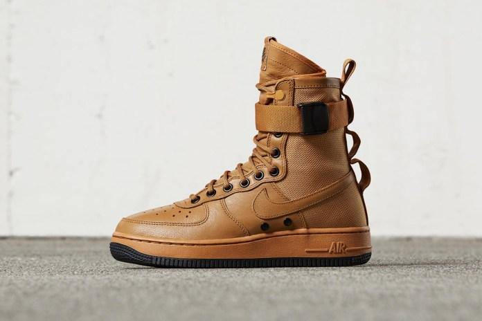 Nike SF-AF1 全新配色設計「Desert Ochre」