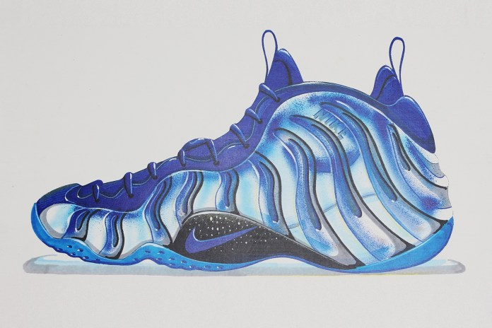 官方解讀 - 閱看 Nike Air Foamposite One 設計背後