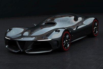 Alfa Romeo 概念超跑 GTL Series Evo 登場