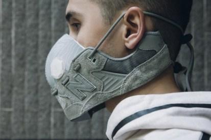 近賞 HYPEBEAST × New Balance 球鞋面罩製作過程