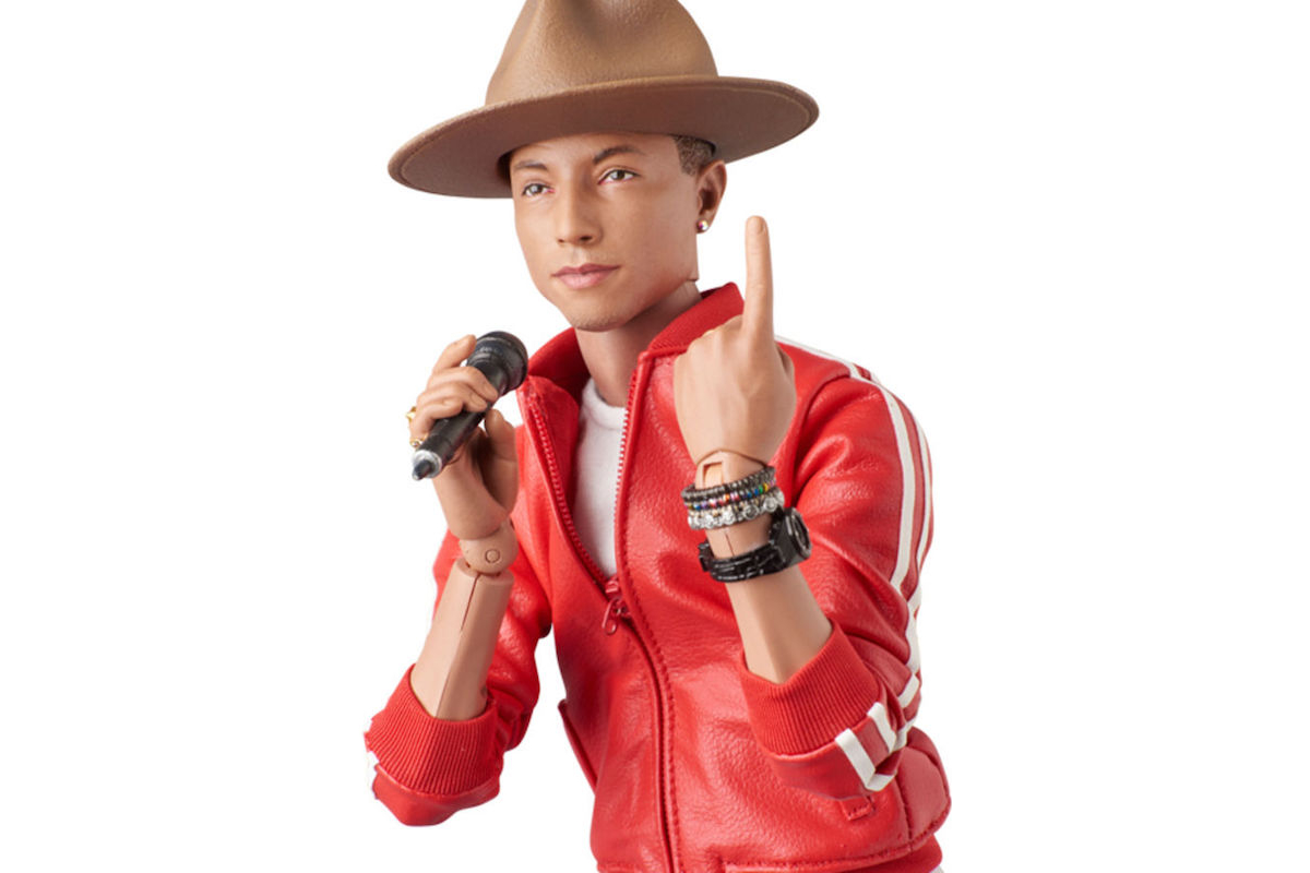 Medicom Toy Pharrell Williams RAH Action Figure