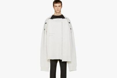 Raf Simons 全新 Oversized White Sweater 針織衫