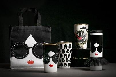 香港 Starbucks 與 Alice + Olivia 推出聯乘系列